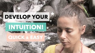 How to Develop your Intuition: Quick, easy, beginners exercise! 🔮