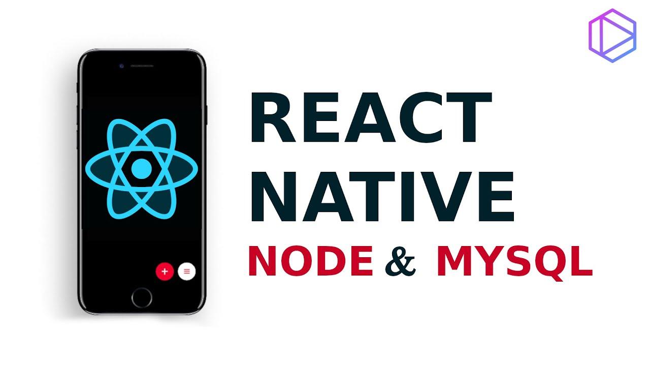 React Native, Node & MySQL - Aplicacion de Tareas (usando Tabnine)