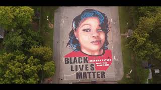 Breonna Taylor #BLM Mural and Memorial in Annapolis Maryland