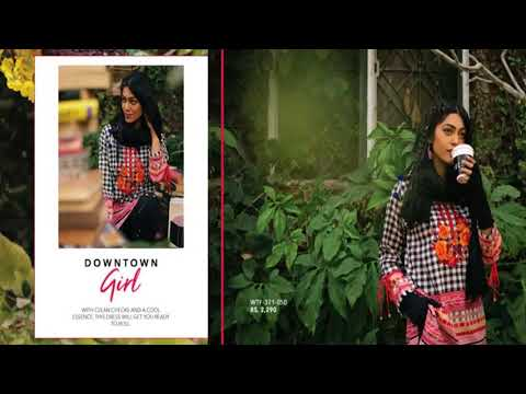 Ethnic by Outfitters Ready to Wear Winter Collection 2017-18