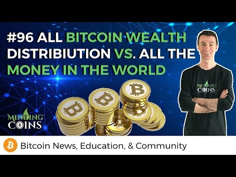 #96 All Bitcoin Wealth Distribution Vs. All The Money In The World