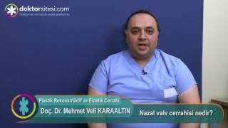 Burun Estetiğinde nazal valv cerrahisi nedir?