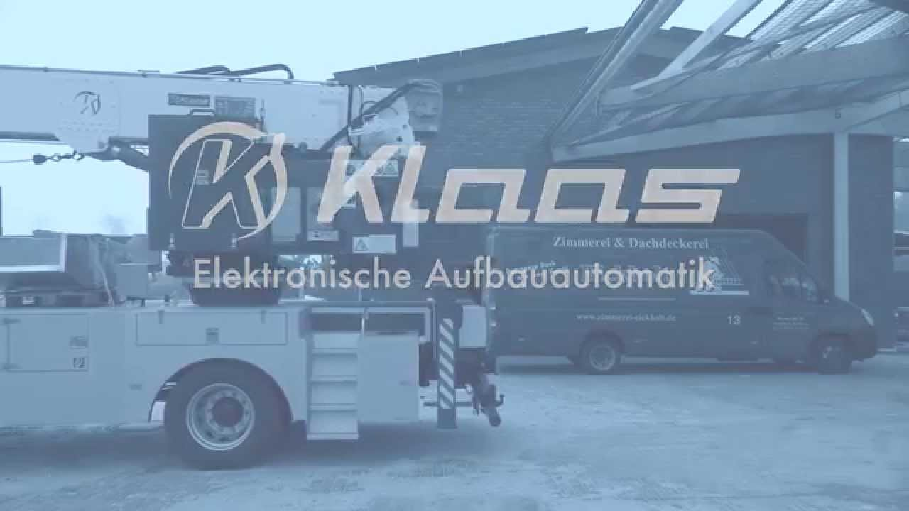 Elektrische Aufbauautomatik Video Youtube