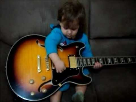 little kids playing guitar by ecl sia music youtube. Black Bedroom Furniture Sets. Home Design Ideas