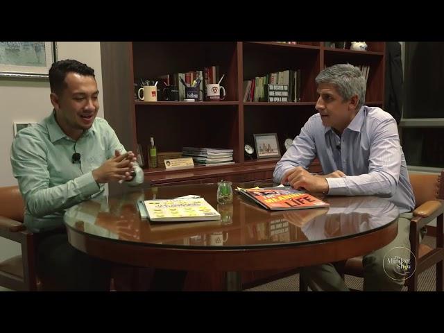 Rafael Zavala en The Mindset Show con Sergio Tenorio
