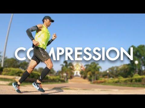 ประโยชน์ของ ปลอกแขนรัดกล้าม + ปลอกขารัดน่อง : Arm & Leg Sleeves Compression