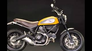 Video modifikasi Ducati  motorcycle scrambler
