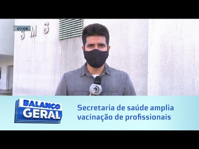 Secretaria de Saúde de Maceió amplia categoria de profissionais de saúde que serão vacinados