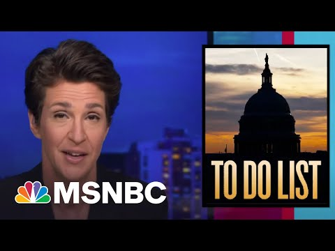 Democratic Tax Cuts, Stimulus Measures Seen To Be Revving Up Economy | Rachel Maddow | MSNBC