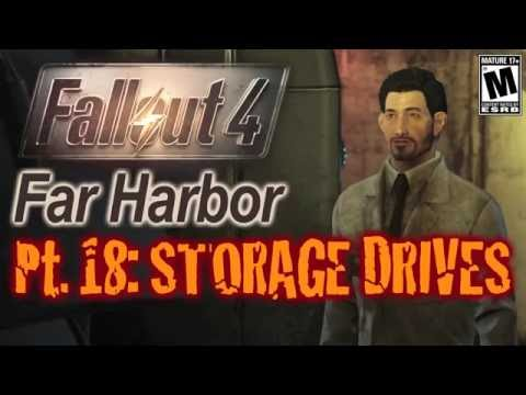 Fallout 4 Far Harbor Gameplay Episode 18 Lost Storage