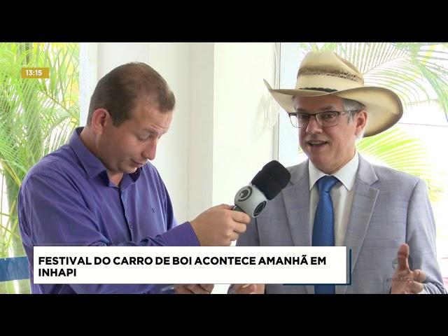 Festival do Carro de Boi acontece amanhã em Inhapi