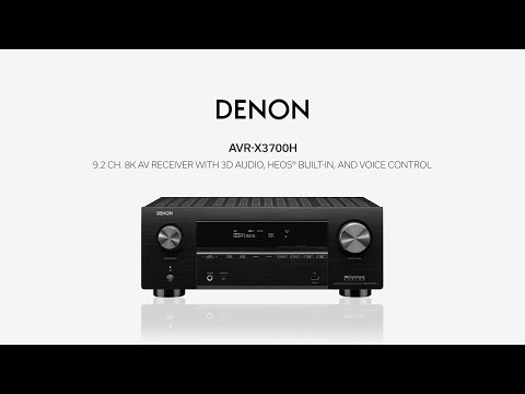 Denon — Introducing the AVR-X3700H