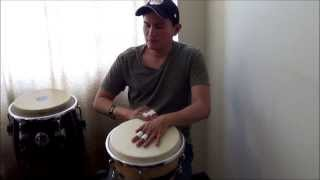 Cover Get Lucky - Daft Punk Con Djembe
