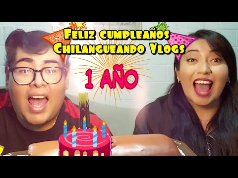 Video Resumen, 1 año de ser Chilangueando vlogs. parte 1