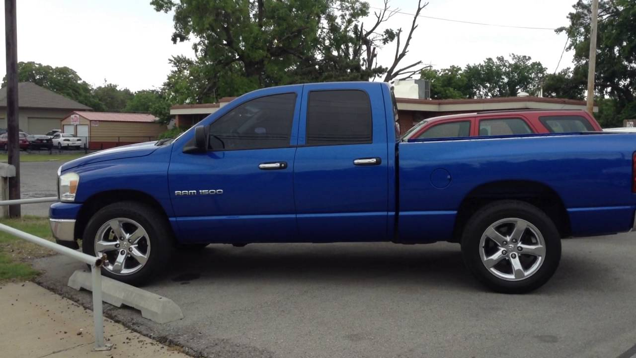 Trucks For Sale In Okc >> Used Truck For Sale Okc 2007 Dodge Ram Quad Cab