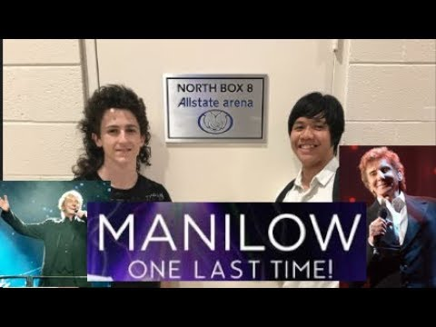 Barry Manilow Concert at AllState Arena July 29 2017