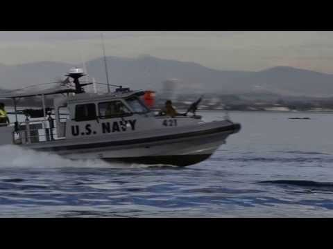 US Navy Boats in San Diego Bay
