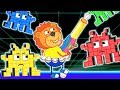Lion Family Arcade Game – Real Game Cartoon for Kids