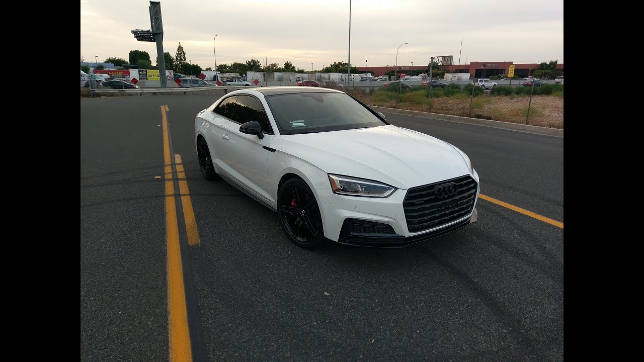 2018 Audi A5 Coupe S Line Sport Package Youtube
