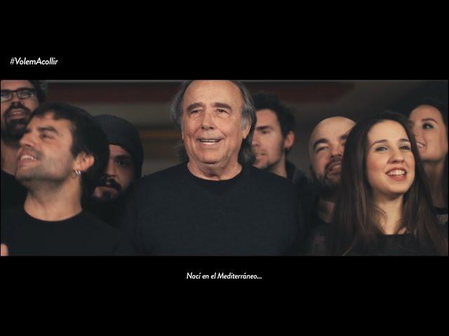 Serrat, junto a más de 20 voces, canta Mediterráneo a favor de los refugiados