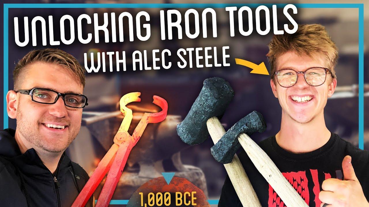 Unlocking Iron Tools: Blacksmithing Iron w/ @Alec Steele
