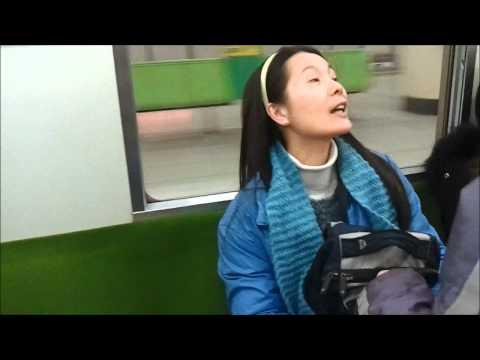 Kyoto Japan Subway Ride