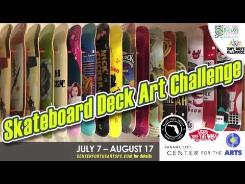 Chautauqua Charter School and the Skateboard Deck Challenge 2018