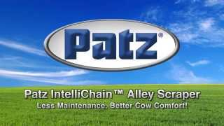 Less Maintenance, Better Cow Comfort With Patz Intellichain® Alley Scraper