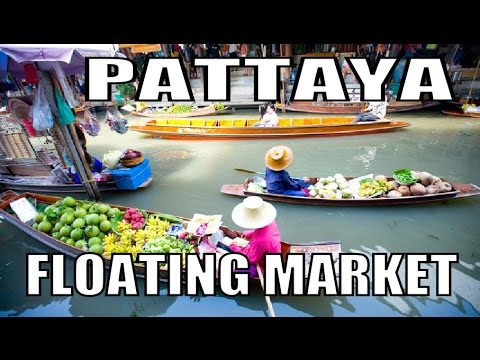 Pattaya Floating Market. Latest update Thailand. Geoff Carter