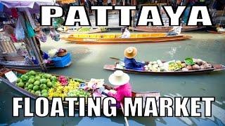 Pattaya Floating Market. Latest update Thailand. Geoff Carter