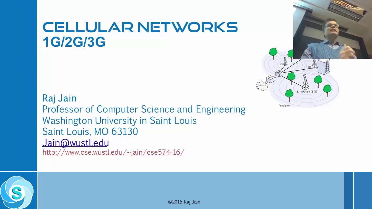 introduction to cellular networks 1g 2g 3g part 1 [ 1280 x 720 Pixel ]