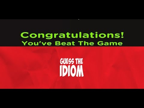 Guess The Idiom - All Level Answers 1 - 600 - YouTube