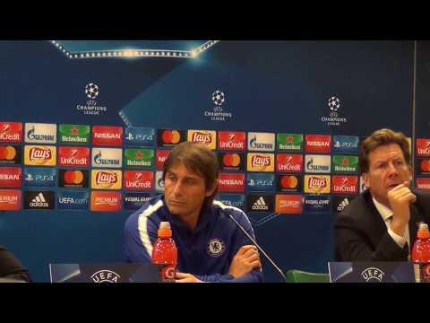 Roma-Chelsea, Conte press conference (english & italian)