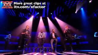 The Risk - The X Factor 2011 - Live Shows (Week 2) - Just The Way You Are