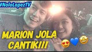 Meeting Marion Jola My CRUSH | Seeing myself on TV in Indonesian Idol Junior 2018 | Nolo Lopez TV