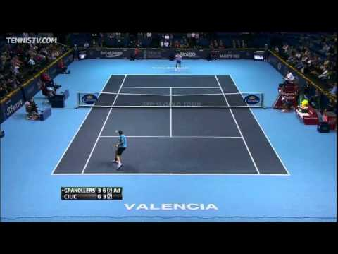 Querrey Upsets Tsonga In Valencia Thursday Highlights