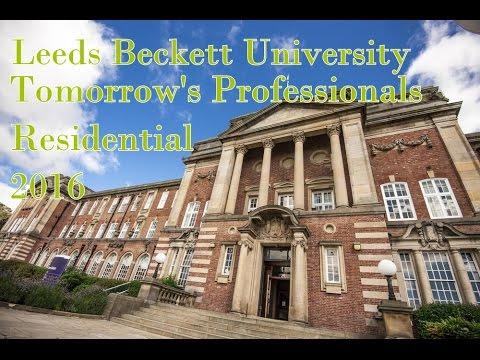 Leeds Beckett University Tomorrow's Professionals Residential 2016 | ThatAwkwardBrit