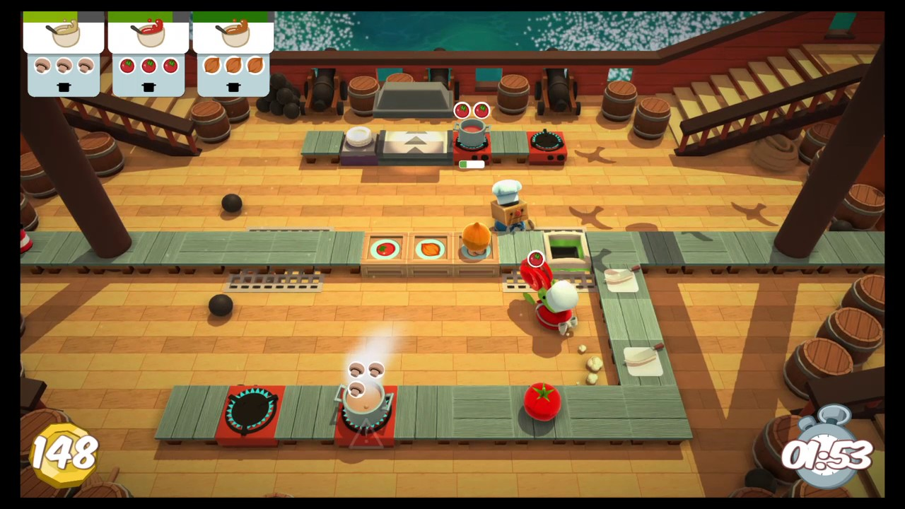 how to play overcooked 2 player