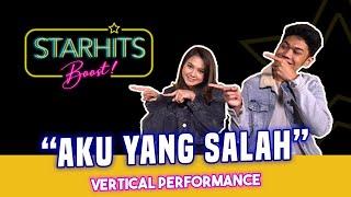 Download MAHALINI X NUCA - AKU YANG SALAH (BOOST LIVE VERTICAL PERFORMANCE)