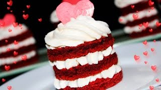 Пирожные КРАСНЫЙ БАРХАТ На День Влюблённых ♥ Рецепты NK cooking