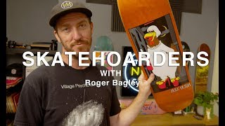 Rare skateboard memorabilia at The Nine Club | SkateHoarders | Roger Bagley | Season 2 Episode 1