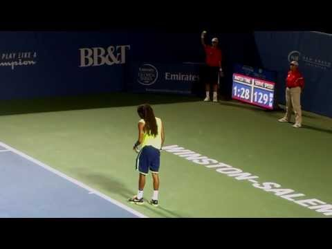 Dustin Brown Amazing Serve and Volley Tennis Player