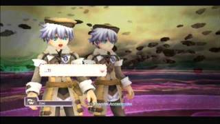 Rune Factory: Tides of Destiny (PS3) -  Final Boss (Legendary Golem + Masked Man) Part 1