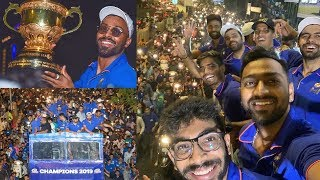 Mumbai Indians Celebration 2019 Full Video HD