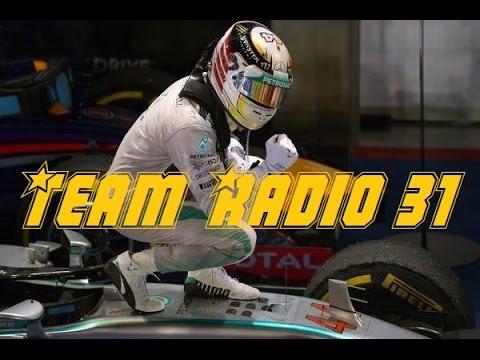TEAM RADIO - Puntata 31 (GP Singapore 2014)