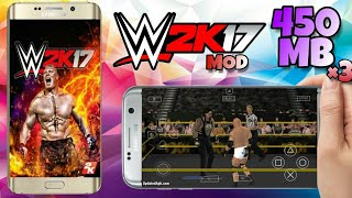 WWE-2K17 psp Android compressed data Download |  Gameplay Proof | Hindi