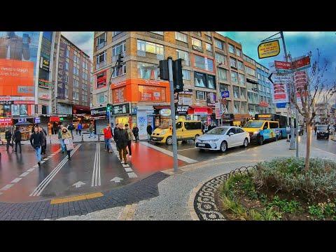 Walk In Kadıköy Street | Istanbul Turkey 🇹🇷 [4K]