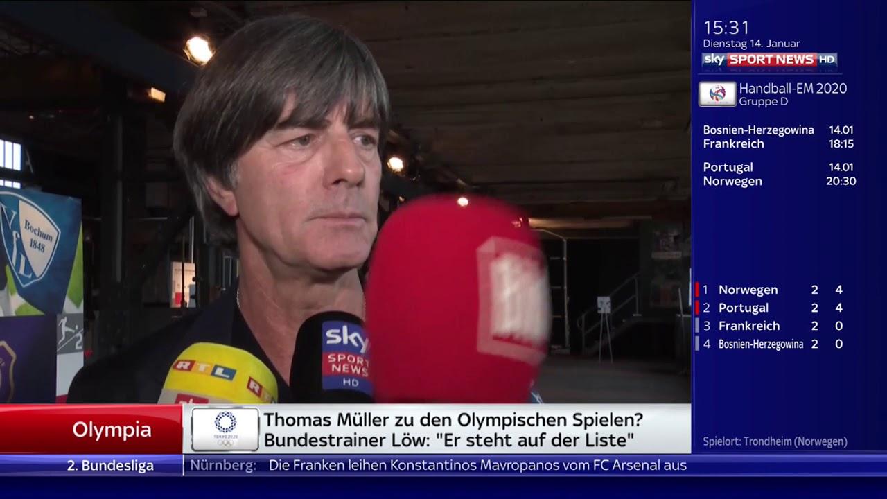 Joachim Low Ssn Interview 14 01 20
