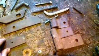 Практичный навес для ворот своими руками из подручного материала за пол часа
