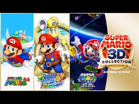 [닌텐도 스위치] 슈퍼마리오 35주년 3D 컬렉션!!! 3가지 마리오를 플레이해봤어요!!